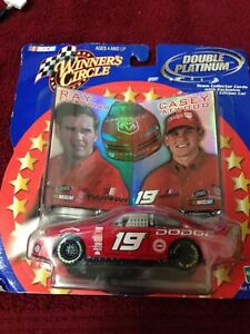 2000 Nascar Winners Circle Double Platinum Ray Everham and Casey Atwood #19