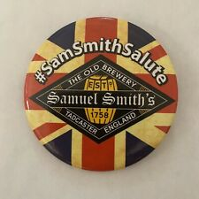 Sam Smith Beer Button Samuel Uk Britain Brewery Party Union Jack