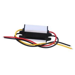 DC 24V to 12V 5A Car Power Step-down Converter Adapter Audio Refit Module