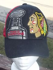 VINTAGE YOUTH SIZE 2010 CHICAGO BLACKHAWKS STANLEY CUP CHAMPIONSHIP CAP