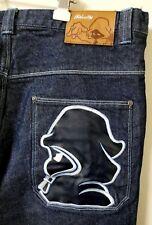 Shadow Boys Dark Blue Big Baggy Jeans D155 Hip Hop Jeans Rap Pants 42X32