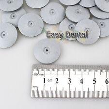 100pcs Dental Lab Polishing Wheels Burs Silicone Polishers Disk Coarse