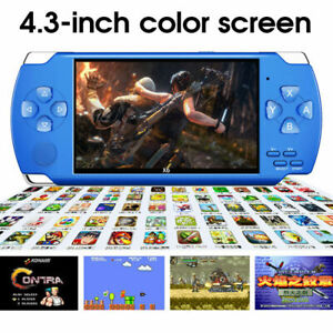 """4.3"""" Handheld PSP 32bit 8GB Game Console Player Portable Video Game Consoles UK"""