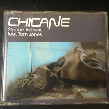 CHICANE feat TOM JONES Stoned in Love  4 TRACK + Video Manifesto CD UK