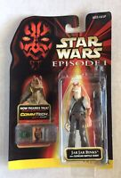 Star Wars JAR JAR BINKS Action Figure Phantom Menace TPM 1998 Hasbro Vintage