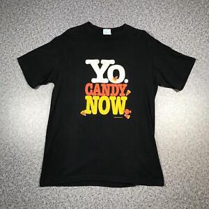 90s Vintage YO CANDY NOW Mens T Shirt Large   Single Stitch