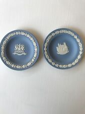 Wedgwood Blue Jasper Vintage Lot 2 Collector Society Plates London