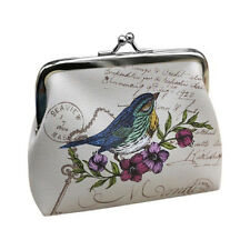 Womens Lady Wallet Bag Coin Purse Clutch Handbag (Bird) Q2X8