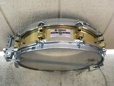 "YAMAHA JAPAN SD935BS Brass Piccolo Snare Drum 10 LUG, 14""x3.5"""