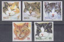 MALTA 2004 CATS SET (x5) MINT (ID:479/D53235)