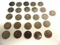 """1968 - 1978 Canadian Twenty Five (25) Cent Coins """"One Per Order"""""""