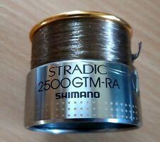 Pesca: Shimano stradic 2500 gtm-ra bobina de repuesto/muy bien conservados