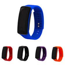 Fitness Smart Rubber LED Watch Date Sport Tracker Digital Waterproof Wrist Watch