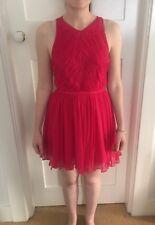 hot pink zimmermann silk dress size 1