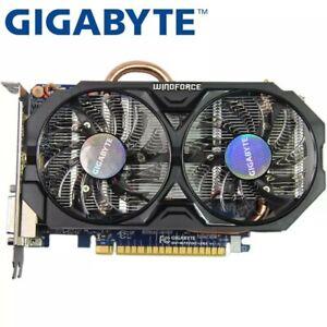 GIGABYTE Video Card Original GTX750Ti 2GB  128Bit Graphics Card For nVIDIA