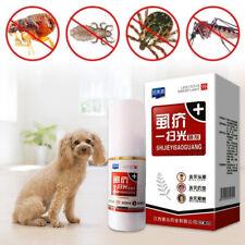 Pet Dog Puppy Cat Insecticide Spray Anti-flea Flea Lice Insect Killer Treatment