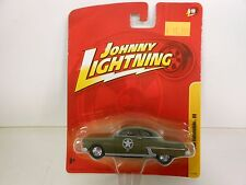 Johnny Lightning 1950 Oldsmobile 88 Olive (Die-cast-1:64 Scale)