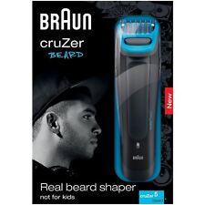 Braun Men CruZer 5 Beard 6-Length Stubble Trimmer Rechargeable Face Style Shaver