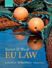 Steiner & Woods EU Law by Lorna Woods, Philippa Watson, Marios Costa (Paperback, 2017)