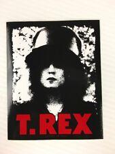 T. REX - Slider Sticker Vinyl 3.75 x 4.75 Glam Velvet Goldmine - BRAND NEW