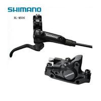 New Shimano Deore M506 MTB Hydraulic Disc Brake Set Front&Rear Black