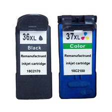 2 Pack Ink Cartridges for Lexmark 36XL 37XL X5650 X6650 X6675 Z2420 X3650 X4650