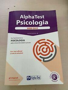 Alpha Test. Psicologia. Manuale di preparazione + 6000 quiz