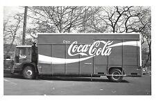 Coca-Cola Coke Delivery Truck Kowalak Real Photo Vintage Postcard (J29050)