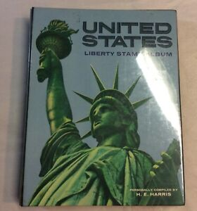 United States Liberty Stamp Album 1971 Personally Compiled By H.E.Harris.