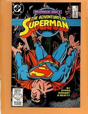 Adventures Of Superman #436 direct edition NM+