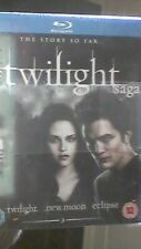 TWILIGHT SAGA TRIPLE BD - HMV EXCL [Blu-ray] - Twilight - New Moon - Eclipse NEW