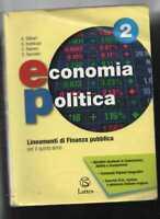 ECONOMIA POLITICA 2 lineamenti di finanza pubblica per il quinto anno sg