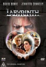 Labyrinth - DVD - 1986 CULT CLASSIC - David Bowie - Jennifer Connelly - REGION 4