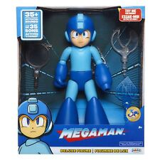 Megaman Deluxe Figure 30th Anniversary 35+ Motion Activated Sounds Accessories +