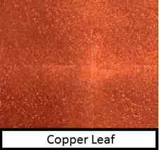 10 sheets of copper leaf 7cm x 7cm craft, gold & silver leaf also in shop