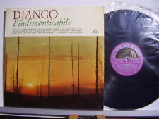 DJANGO REINHARDT disco LP 33 giri L' INDIMENTICABILE stampa ITALIANA