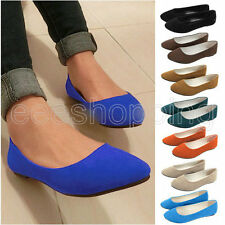 Fashion Women's Casual Slip-on Loafers Sweet Shoes Ballet Ballerina Slippers