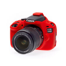 EasyCover Pro silicone CAMERA ARMOR CASE to fit Canon EOS 1200D DSLR RED