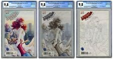 CGC 9.8 AMAZING SPIDERMAN RENEW YOUR VOWS # 1 LEGACY EDITION EXCLUSIVES ARTGERM