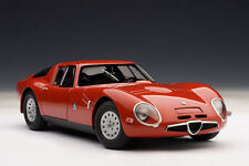 Autoart 1/18 ALFA ROMEO TZ2 1965 - RED 70198