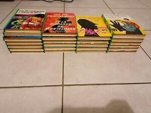 Lot de 23 Livres Les Six Compagnons Collection Bibliothèque Verte