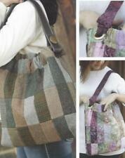 Cinched Patchwork Satchel Pattern Bag Roomy Pockets Jelly Roll Indygo Junction