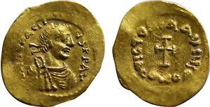 Heraclius Tremissis Gold Constantinople     (B142)