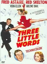 Three Little Words 0012569699229 With Fred Astaire DVD Region 1