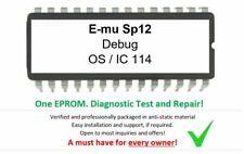 Emu SP12 v1.8 Debug Diagnostic Test Firmware Sampler EPROM for E-mu SP-12