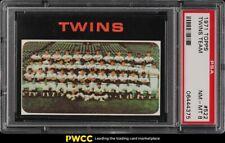 1971 Topps Twins Team #522 PSA 8 NM-MT