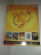 Pack 5 jeux  vol 2 (pitfall, transport tycoon,...) -- PC -- Big Box FR