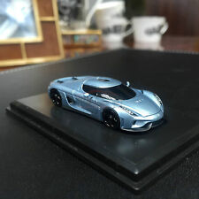 New 1/87 Frontiart Koenigsegg Regera Resin car model Horizon blue with show case