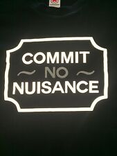 Casual Connoisseur - Commit No Nuisance T-Shirt - Navy - Large