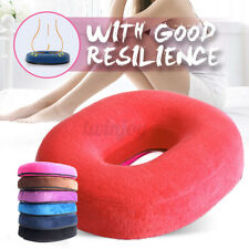 Memory Foam Comfort Donut Ring Chair Seat Cushion Pad Pillow Coccyx Pain  **/